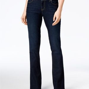 NWT Style & Co Curvy-Fit Bootcut Jeans